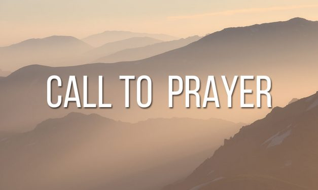 National Call to Prayer August 8th through the 10th
