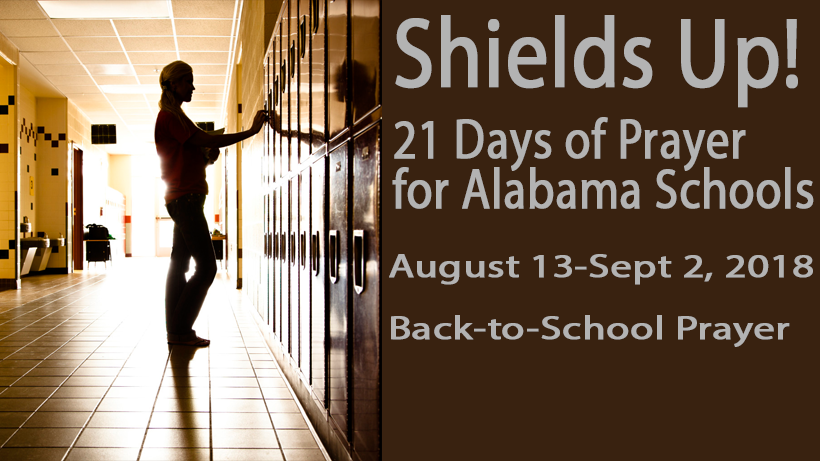 21 Day Prayer Guide for Alabama Schools 2018